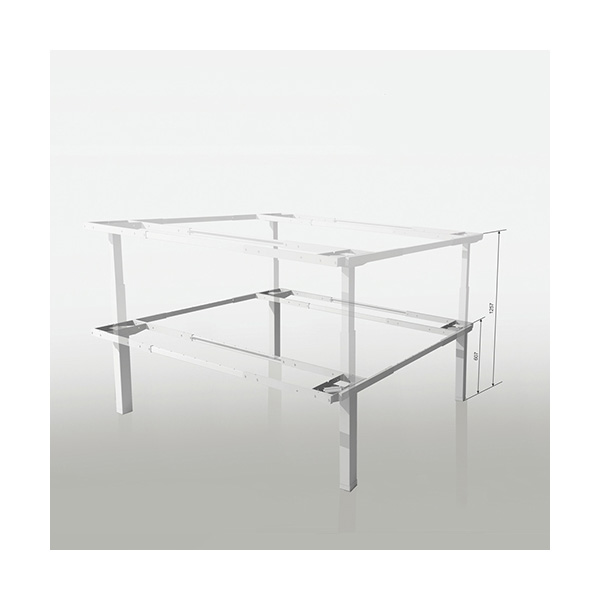 Keturkojisreguliuojamo aukščio stalas