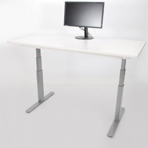 Reguliuojamo aukščio stalas su stalviršiumi
