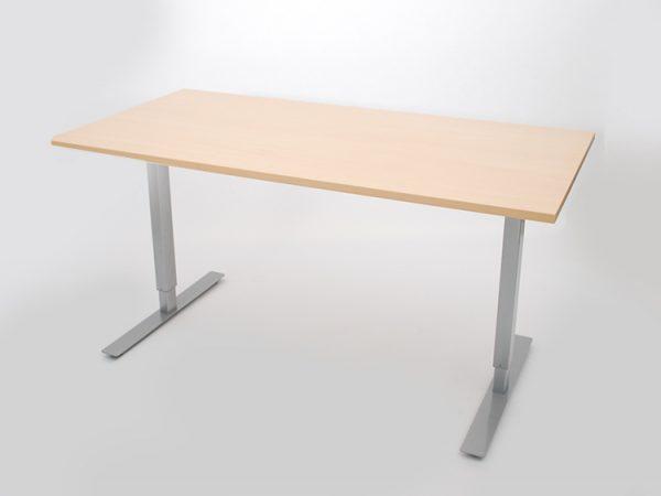 Стол для работы стоя EEL50 дуб светлый